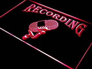 ADVPRO i206-r Recording On The Air Radio Studio New Light Sign