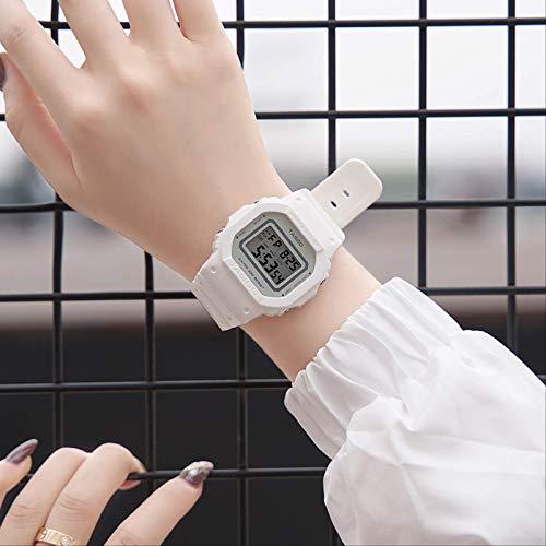 Bloquear Reloj Electrónico Mujer Temperamento Minimalista Estudiantes Hombres Impermeable Deportes Tendencia Pareja De Alto Sentido Marca Top Ten