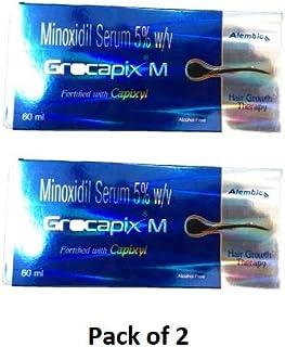 Grocapix M Serum (60 ml) (Pack of 2)