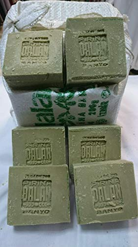 1900 gr. Olivenöl-Seife 100% Handgemachte und Natur 100% Oliven Naturseife, Vegan & 1 x 125 gr Natur Kamilleblüten Seife !!! GRATIS !!!
