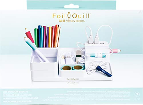 We R Memory Keepers WR661178 Foil Quill USB Modular Storage, Multi