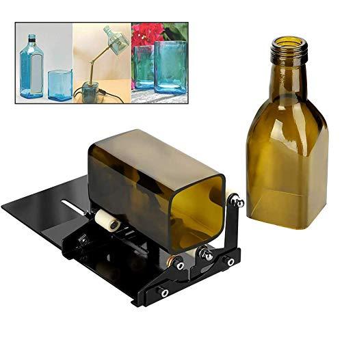 Moozic Vierkant und Rund Flaschenschneider und Flaschenhals-Schneider Set, Passend für technische Verwendung, Hausdecoration, DIY für runde und quadratische Flaschen