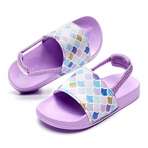Zapatillas de baño con correa elástica para niños, color, talla 28/29 EU