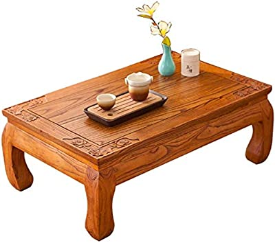 Selected Furniture/Coffee Table Japanese Tatami Coffee Table Bay Window Small Desk Balcony Small Coffee Table Living Room Brown Modern Coffee Tables Casual Low Table