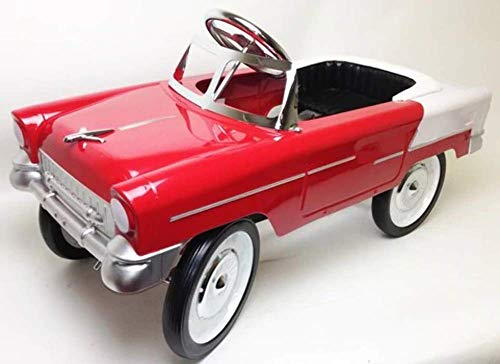 1955 Classic Pedal Car in Red/White