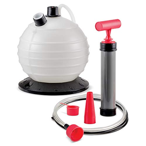 Powerbuilt (647570 Oil/Fluid Extractor - 6.3 Quart Capacity