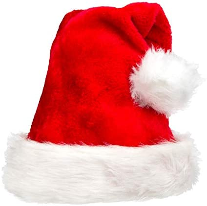 Christmas Hat Santa Hat For Christmas Fit for Adult Children New Style Thicker Warmer product image