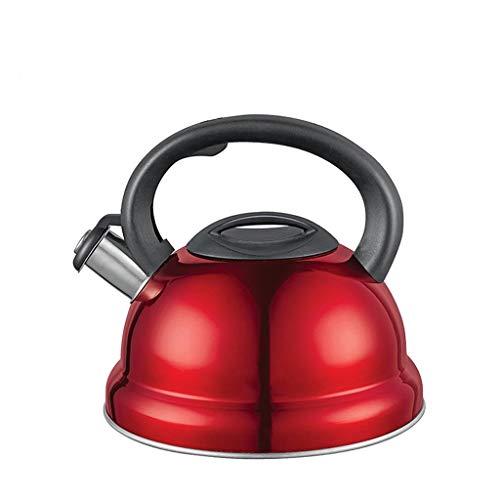 JN Herdkessel Edelstahl Haushalt Kessel Whistling Kettle 3L Gaskocher Universal-Whistling Kettle