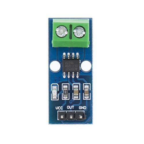 YI-WAN Piezas de adaptación Módulo de Sensor Hall Actual ACS712 5A 20A 30A Sensor Hall Actual Módulo 5A / 20A / 30A ACS712 Accesorios (Size : 30A)