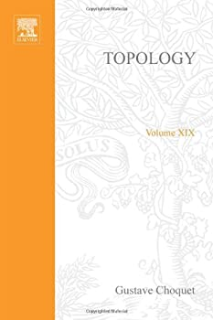 Hardcover Topology, Volume 19 (Pure and Applied Mathematics) Book