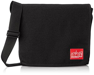 Manhattan Portage Medium DJ Shoulder Bag (Black) by Manhattan Portage Bags