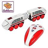 Eichhorn 100001316 modelo de ferrocarril y tren - modelos de ferrocarriles y trenes (3 Año(s), Rojo, Color blanco, Batería, AA) , color/modelo surtido