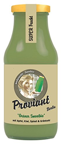 Proviant Berlin Bio Grüner Smoothie Spinatheld (6 x 240 ml)