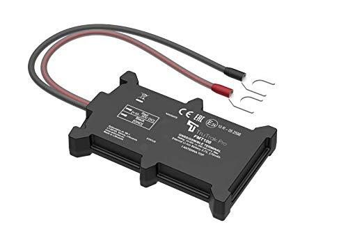 TruTrak FMT100 Tracker - Dispositif de Suivi par Traceur GPS en tremps réel - Auto-Installation - sans Engagement - Crédit Rechargeable - Moto, Voiture, Caravane, Fourgon, Car/Bus - 12-24 Volt.