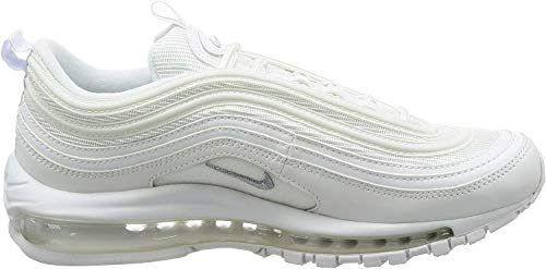 Nike Air MAX 97, Zapatillas de Running para Hombre, Blanco (White/Wolf Grey/Black 101), 44 EU