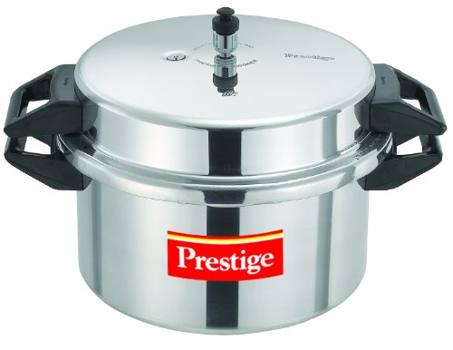 Prestige Popular Aluminium Pressure Cooker Silver 16 Litres