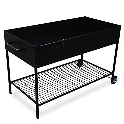 MIXC Raised Garden Bed, Metal Elevated Outdoor Planter Box for Backyard & Patio,Large Planter for...
