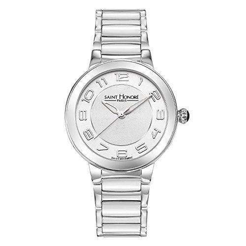 Saint Honoré Reloj Analogico para Mujer de Cuarzo con Correa en Acero Inoxidable 7221521ABN