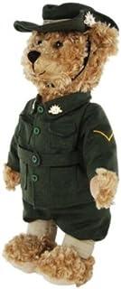 Elka Australia 1991-40 WW1 Digger Army Bear Soft Plush Toy, 40 Centimeters