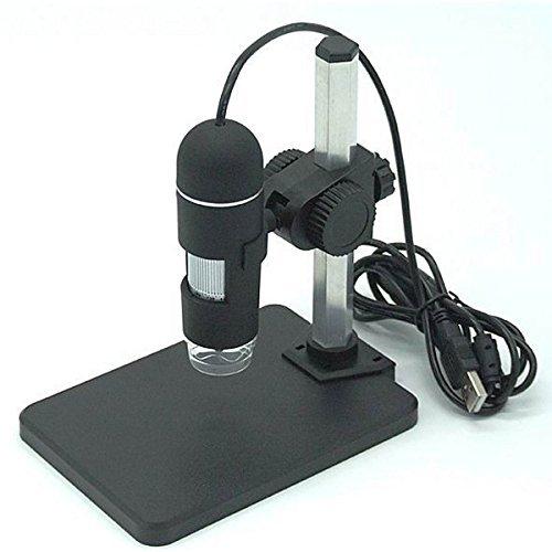 No logo JF-Xuan 20-200X USB 2MP 8 LED Microscopio Digital Endorscope Lupa de la Tarjeta de circuitos similares reparación de joyería Accesorios