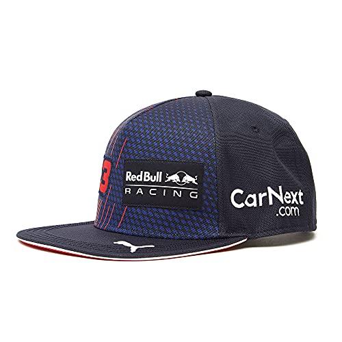 Red Bull Racing 2321801 Max Verstappen Driver Flatcap, Unisex One Size - Original Merchandise