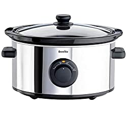 The Breville ITP136 3.5 litre slow cooker has three cooking functions; low, high and keep warm, and a removable ceramic bowl that can be taken straight to the table. Great for cooking stews and casseroles or tenderising meat, you can cook between fou...