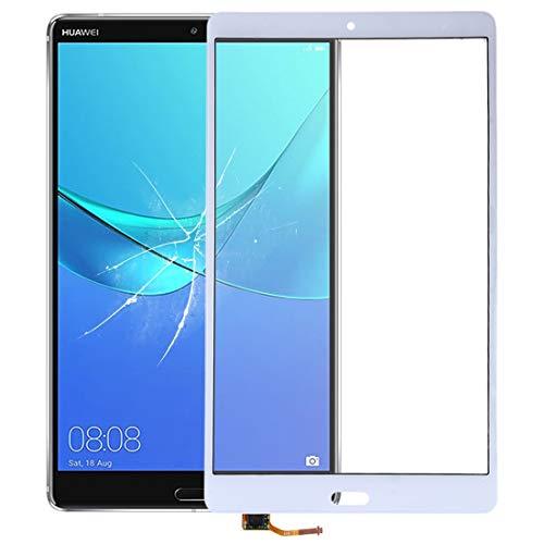 YUQINN 2019 Spare Touch Panel Repair Part Ersatz for Huawei Media Pad M5 8,4 Zoll (Farbe : Weiß)