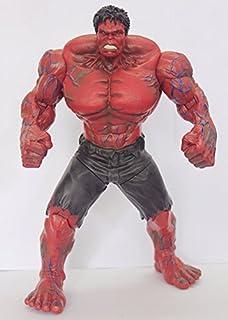 Szcc Avenger alliance invincible Hulk Hulk 10 inch joint movable puppet(Red hulk)