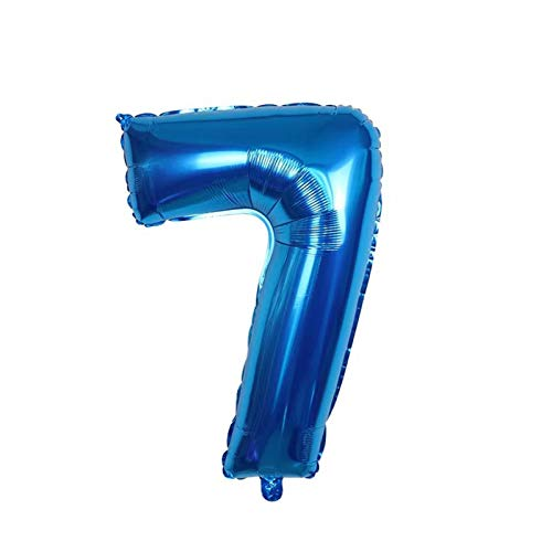 JSJJAES Balloons 3D Big Balloon Number Foil Balloons Birthday Party Decoration Baby Show Decor Supplies Children's Gifts (Color : Army Green)