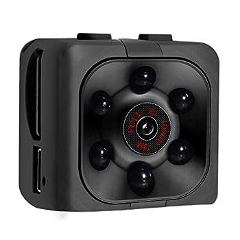 Mini Spy Camera 1080P HD Mini Spy Camera with Audio and Video Recording Night Vision Motion Detective - No Wi-Fi Need