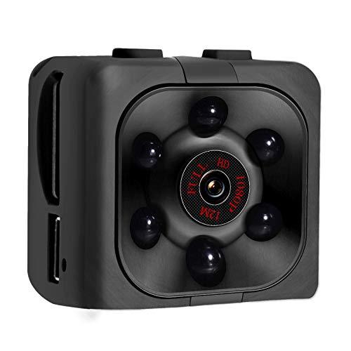 Mini Spy Camera, 1080P HD Mini Spy Camera with Audio and Video Recording, Night Vision, Motion Detective - No Wi-Fi Need