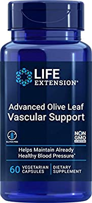 Life Extension Advance Olive Leaf Vascular Support (with Celery Seed Extract, 60 Vegetarian Capsules) from Life Extension