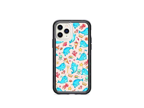 Kaidan iPhone X XR XS Starfish 11 Pro Max 8 7 Plus 6 6S Cute Narwhal Case 5 5S SE Icecream Samsung Galaxy S9 S8 Plus Kawaii Jellyfish Shell S10 + S10 Lite Note 8 9 Ocean S10e Google Pixel 3 XL 2 am360