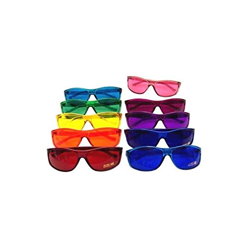 Why Should You Buy Color Therapy Glasses Pro Style Set of 10 Colors, Poker Sunglasses [Also Availabl...
