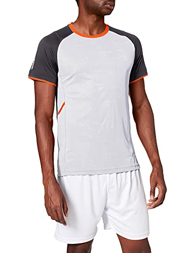 Pro Touch Akin T-Shirt Homme Gris FR : L (Taille Fabricant : L)