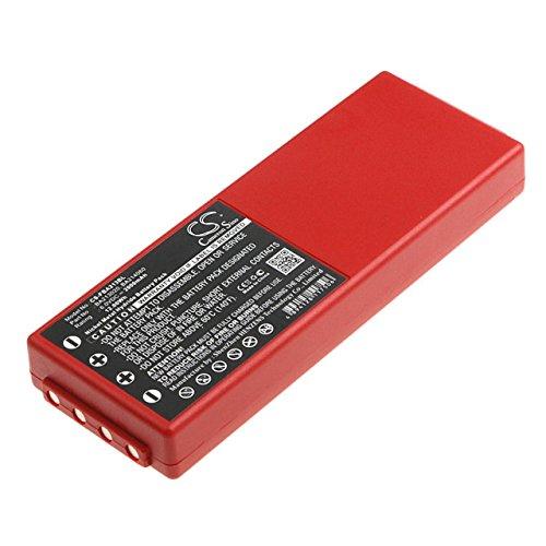 Akku für Kran-Funkfernsteuerung HBC Typ BA213020, 6V, NiMH