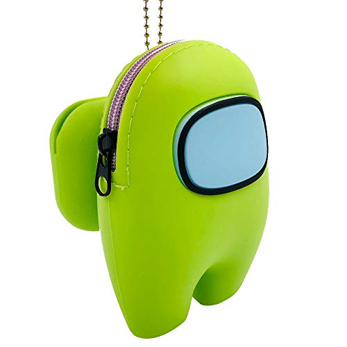 Among Us Toys Silicone Storage Bag Can Hold AirPods Pro Case Small Items Good-Looking Gift Backpack Office Study Car