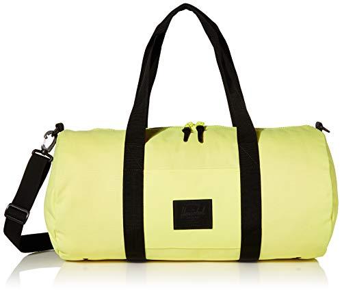 Herschel Unisex-Adult Sutton Duffle Duffel Bag, Highlight/Black, Mid-Volume 28.0L