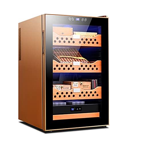 La refrigeración de Doble núcleo y Doble núcleo Puede Contener hasta Aproximadamente 400 Puros humidor de Puros 70L Gabinete Inteligente de Temperatura