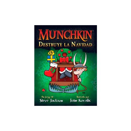 Munchkin - Destruye la Navidad, Juego de Mesa (Edge Entertainment MUB1)