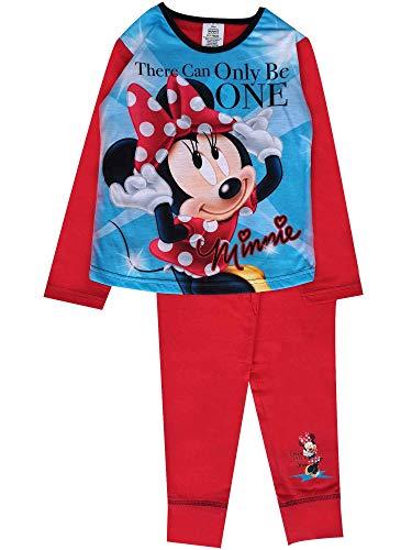 Mädchen Minnie Maus Disney Schlafanzüge Offizielle Kinder - Minnie Be One, 134-140