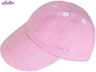 Sophia's 18 Inch Doll Hat Light Pink Baseball Cap for Dolls | Fits 15 Inch and 18 Inch Dolls