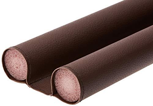 WENKO Joint de porte marron - pliable , Plastique, 80 x 3.8 x 13 cm, Marron