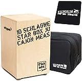 Schlagwerk CP400 SB Starbox Junior Kinder-Cajon + Keepdrum Tasche + Sitzpad