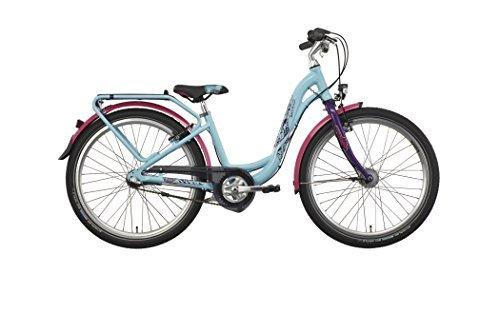 Puky Skyride 24-3 childrens bike Aluminium turquoise 2016 24 inch bike by Puky