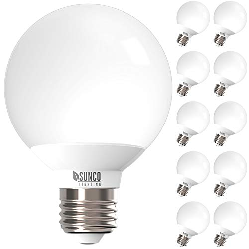 Sunco Lighting 10 Pack G25 LED Globe