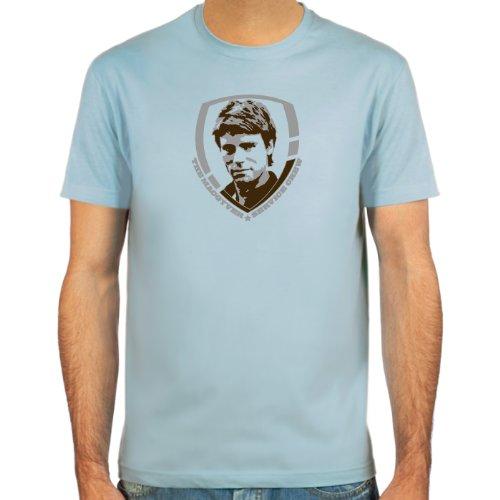 Pixda T-Shirt MacGyver ::: Farbauswahl: SkyBlue, Sand oder weiß ::: Größen: S-XXL