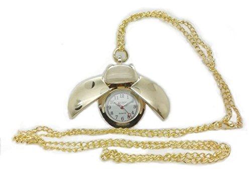 NURH Reloj Enfermera Mariquita Dorado, Movimiento Y BATERIA JAPONES 1ª Calidad, 3 años de Garantia.COLABORAMOS con F.Theodora.