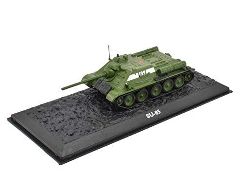 Atlas Edition Ultimate Tank SU-85 Destroyer Fertigmodel Maßstab 1:72 Die-Cast Metall