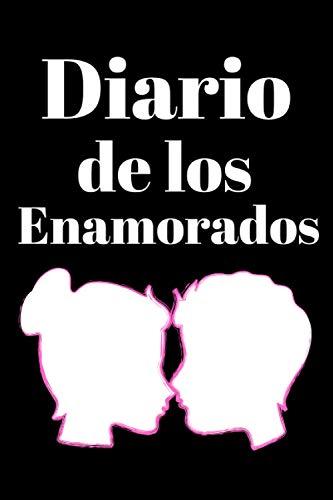 DIARIO DE LOS ENAMORADOS: Diario de cuaderno forrado de regalo de San Valentín, Regalo diario personalizado para niños y hombres para el día de San110 páginas forradas 6X9